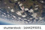 entertainment. skydiving is a...   Shutterstock . vector #1644295051