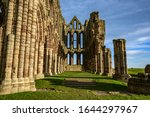 Interior Shot Of Whitby Abbey...
