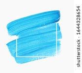 brush paint stroke acrylic... | Shutterstock .eps vector #1644328654