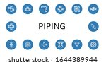 piping simple icons set....   Shutterstock .eps vector #1644389944
