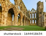 The Interior Of Whitby Abbey.