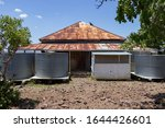 Old Corrugated Iron Water Tanks ...