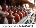 bronze and copper handcrafted...   Shutterstock . vector #1644494494