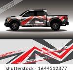 car wrap decal design vector ...   Shutterstock .eps vector #1644512377