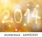 abstract new year blurred... | Shutterstock . vector #164452325