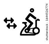 vector gym dumbbells and... | Shutterstock .eps vector #1644526774