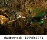 A Limestone Cave On Ishigaki...