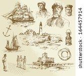 Nautical Elements   Hand Drawn...