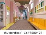 3d render of kindergarten... | Shutterstock . vector #1644600424