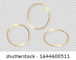 gold shiny glowing vintage...   Shutterstock .eps vector #1644600511