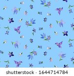 hand painting abstract... | Shutterstock . vector #1644714784