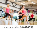 fitness  sport  training  gym... | Shutterstock . vector #164474051