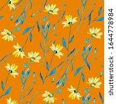 Wild Flowers Watercolor...