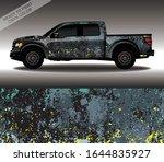 car wrap decal design vector ...   Shutterstock .eps vector #1644835927