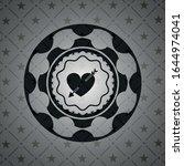 heart with arrow icon inside... | Shutterstock .eps vector #1644974041