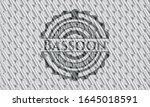 bassoon silver emblem or badge. ... | Shutterstock .eps vector #1645018591