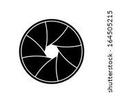 vector illustration of camera... | Shutterstock .eps vector #164505215