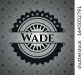 wade dark badge. vector... | Shutterstock .eps vector #1645052791