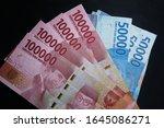money indonesian rupiah... | Shutterstock . vector #1645086271