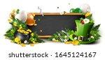st. patrick's day header or... | Shutterstock .eps vector #1645124167