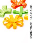 set of colorful gift bows. | Shutterstock . vector #164515301