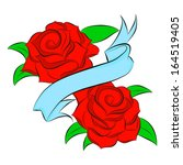 red rose | Shutterstock .eps vector #164519405