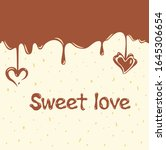 vector illustration card with a ...   Shutterstock .eps vector #1645306654