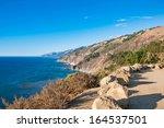 California Coast From Highway ...