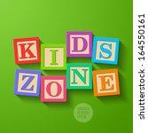 kids zone   wooden blocks....