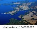Lake Guntersville Alabama Aerial View