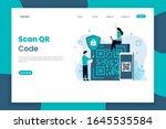 qr code scanning landing page...