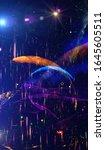 spectacular multicolored... | Shutterstock . vector #1645605511
