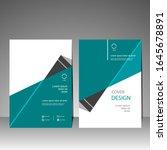 book cover design modern.... | Shutterstock .eps vector #1645678891