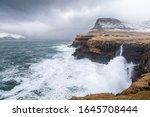 Big Waves At Gasadalur   Faroe...