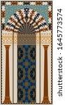 mihrab   semicircular niche in... | Shutterstock . vector #1645773574