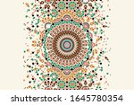 morocco disintegration template ... | Shutterstock . vector #1645780354