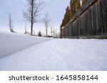 typical canadian sidewalk...   Shutterstock . vector #1645858144