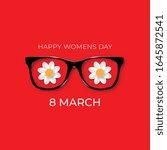 international womens day. 8... | Shutterstock .eps vector #1645872541