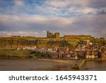 The Outer Harbour At Whitby. ...