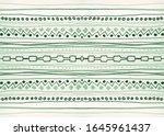 seamless artistic stripes.... | Shutterstock . vector #1645961437