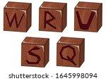 bricks vector illustration on... | Shutterstock .eps vector #1645998094