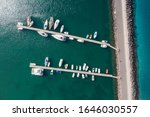 Aerial View Of Amazing Boats....