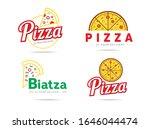 set of pizza logo  badges ... | Shutterstock .eps vector #1646044474