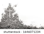 Golgotha Hill With Cross Of...