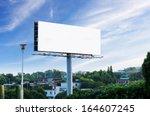 sunset billboards   Shutterstock . vector #164607245