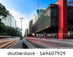 sao paulo   november 11  the... | Shutterstock . vector #164607929