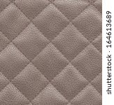 plaid brown leather texture... | Shutterstock . vector #164613689