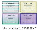 certificate of appreciation... | Shutterstock .eps vector #1646154277