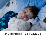bed  bedtime  boy  cheeky ... | Shutterstock . vector #164622131