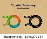circular economy recycling... | Shutterstock .eps vector #1646271154